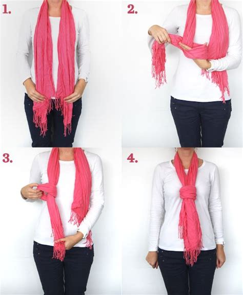 17 best ideas about tie a scarf on ways to tie
