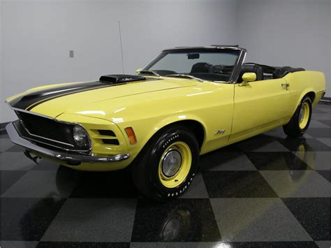 1970 ford mustang convertible for sale 1970 ford mustang q code cobra jet convertible for sale