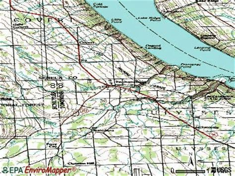 trumansburg new york ny 14886 profile population maps