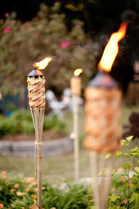 tiki torches backyard backyard peachtree city wedding by nam nguyen photography