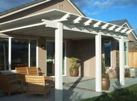 Patio Cover Front Yard Pergola Patio Cover Home Ideas
