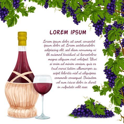 racimo de uvas corel jarro de vino y fondo de racimo de uva descargar