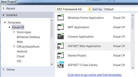 bootstrap templates for visual studio 2015 bootstrap and visual studio phpsourcecode net