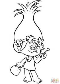trolls coloring pages to and print for troll