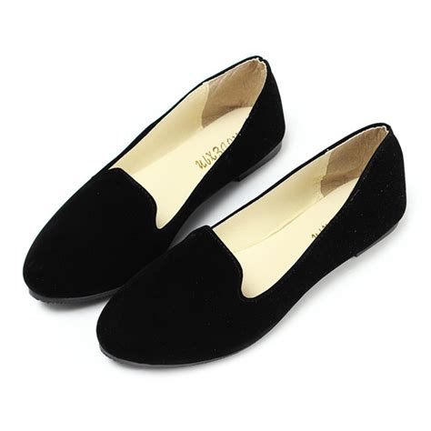 Ballerina Style Ballet Flats by Aliexpress Buy Fashion Style Suede Leather Ballerina
