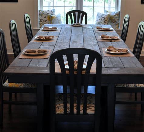 farmhouse table remix   build  farmhouse table