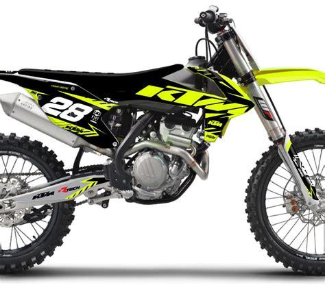 Ktm Plastics Rival Ink Design Co Custom Motocross Graphics Product