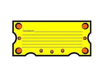 cheeseburger book report project templates by heidi