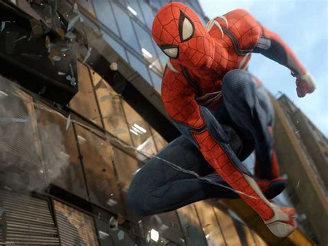 spider man swings new spider man ps4 realistic swinging style backed by
