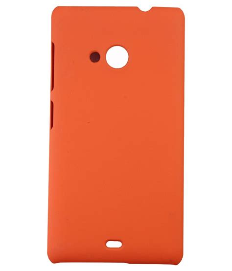 Screen Guard Microsoft Lumia 535 toppings back cover with tempered glass screen guard for microsoft lumia 535 orange buy