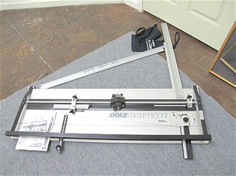 Fletcher Mat Cutters by Used Fletcher Terry 2100 Mat Cutter 48 Quot Production Stops
