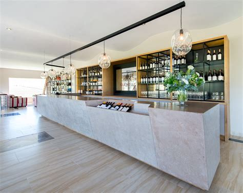 the tasting room glenelly estate s new inspired bistro and tasting room design news