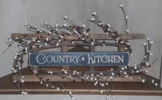 Country Kitchen Wall Decor by Quot Country Kitchen Quot Wooden Wall Ladder Decor