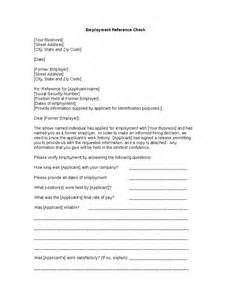 cover letter to former employer sle employment verification letter from previous