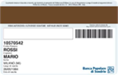 popolare di sondrio scrigno card prodotti e servizi privati carte di pagamento linea