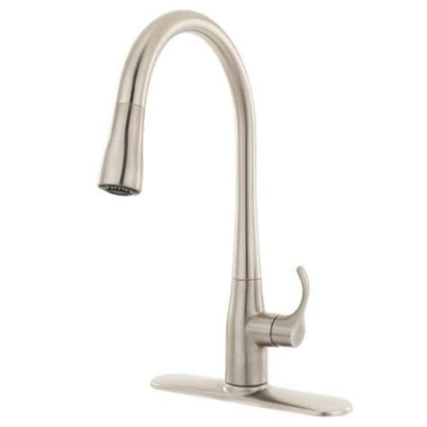 kohler simplice pull out spray head in stainless steel kohler simplice 1 2 3 or 4 hole single handle pull