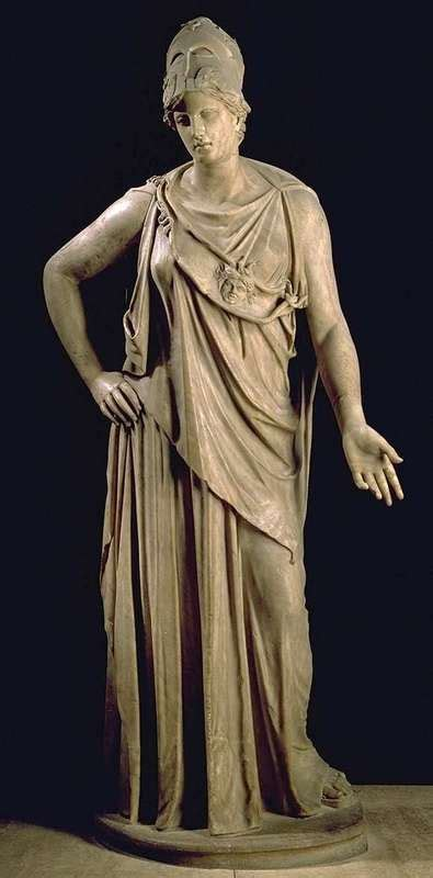 greek sculpture ancient greece athena is the greek goddess of wisdom justice and war