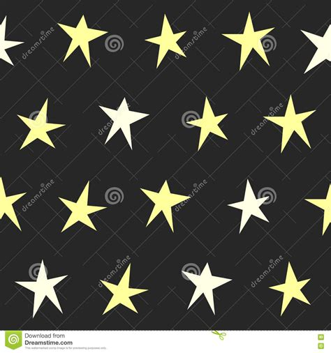 star pattern background vector abstract stars seamless pattern background stock vector