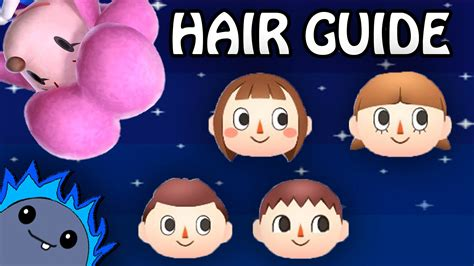 animal crossing new leaf hair colors animal crossing new leaf hair color guide bubakids