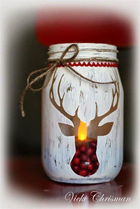 Atractiva  Trabajos Manuales En Madera #9: 18-Captivating-DIY-Christmas-Mason-Jars-9.jpg