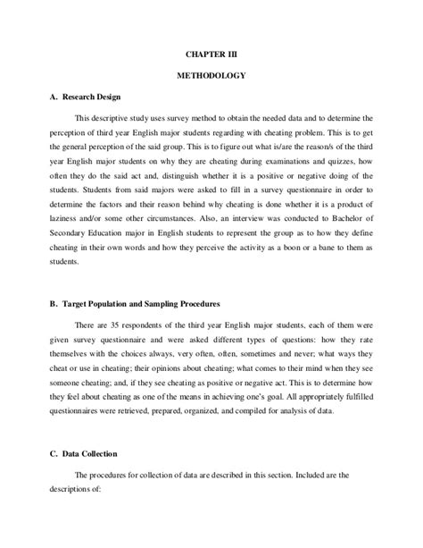 what is the methodology of a research paper research paper on academic
