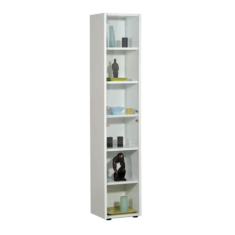 Smooth White Tall Narrow Bookcase Design Ideas For Bedroom Target White Bookcase