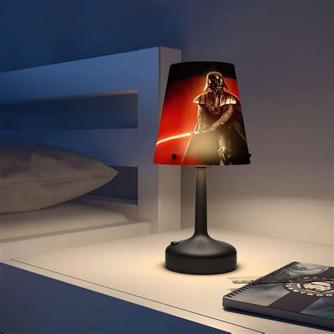 star wars darth vader led table lamp official