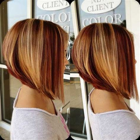 honey blonde bob short nape stacked inverted bob hairstylegalleries com
