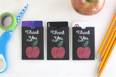 Teacher Appreciation Gift Card Holder Printable - free printable teacher appreciation gift card holder liz on call