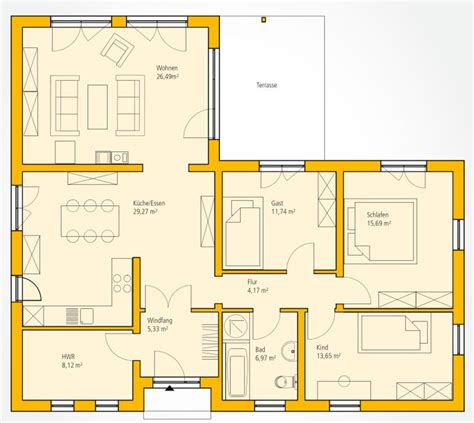 grundriss ideen grundriss bungalow hanglage beste bildideen zu hause design