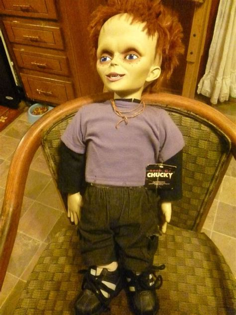 chucky doll house glen doll glenda doll seed of chucky doll with tag for him tags and dolls