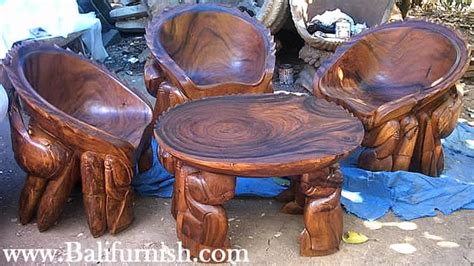 Crab Table by Wooden Crab Table And Wooden Crab Chair