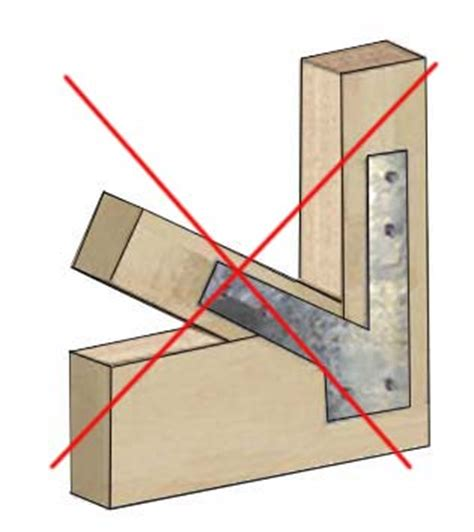 Wood Arbor Brackets Why No Brackets Or Lag Hangers In A Timber Frame Arbor Or