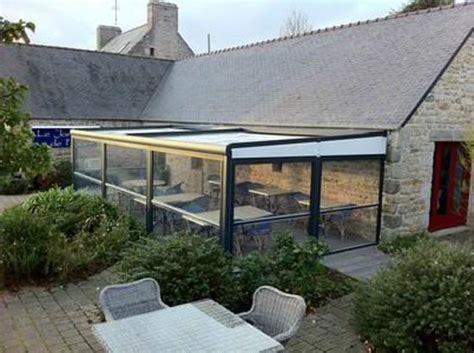 terrasse le terrasse couverte picture of le jardin de l aber breles