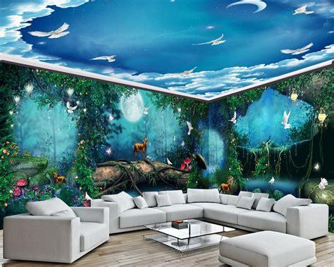 Papier Peint Paysage Mural by D 233 Coration Murale Grande Panoramique Paysage Ro