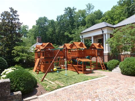 cheap backyard playsets swingsets playsets by backyard adventures of middle