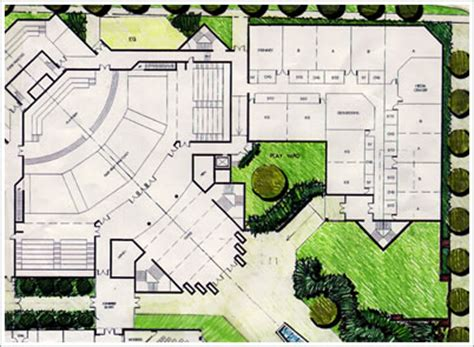 Church Fellowship Hall Floor Plans by Projects 171 R Miller Architecture Inc
