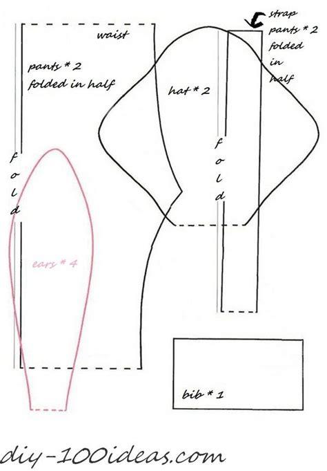 sewing pattern on line free sewing pattern tilda bunny diy 100 ideas