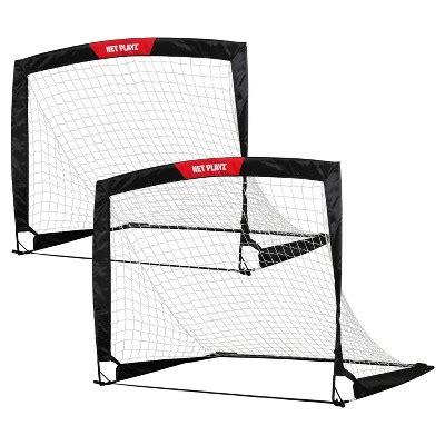 soccer goals best soccer goals portable fold a goal net playz fold up soccer goal set of 2 target