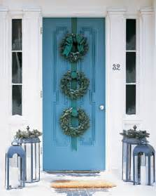 living it at home welcoming front door decorations