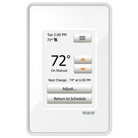 Ditra Heat Floor Temperature Sensor - schluter ditra heat programmable touchscreen thermostat