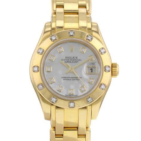 imagenes de rolex originales montre bracelet rolex lady datejust pearlmaster 328854