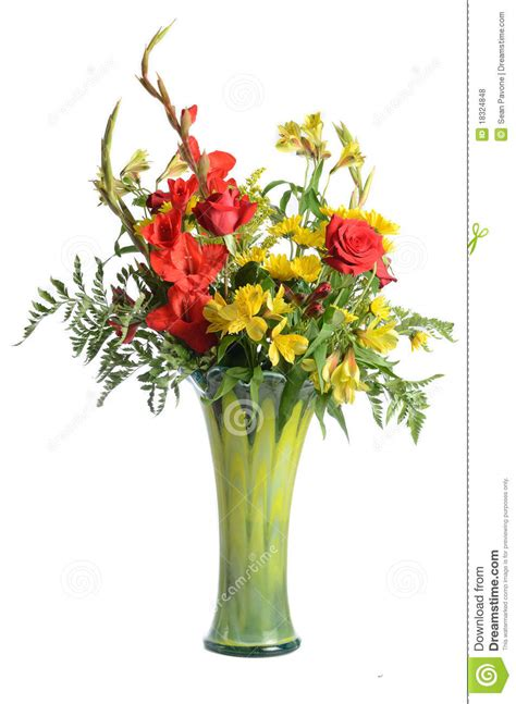 bouquet in vase royalty free stock photos image 18324848