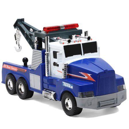 tonka mighty motorized truck funrise toys tonka mighty motorized tow truck