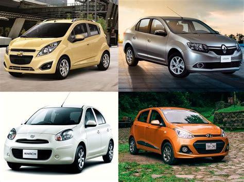 carros nuevos economicos autos post los 10 autos m 225 s baratos en m 233 xico autocosmos