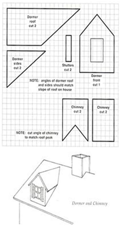 gingerbread house chimney template printable template for making a gingerbread house in the shape of a