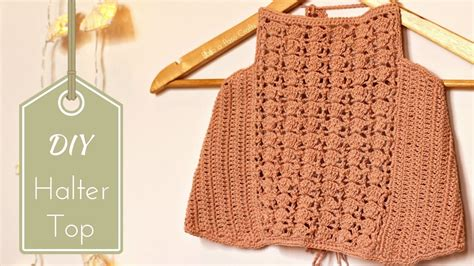 best tutorial on design patterns diy crochet halter top tutorial free pattern with