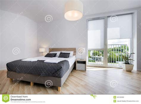 comfortable interior design bright and comfortable bedroom interior design stock photo