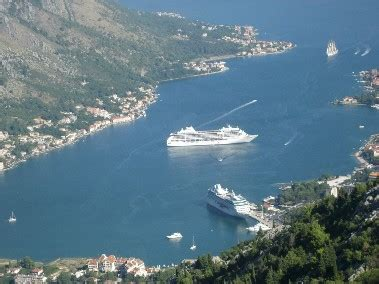 kotor cruise port kotor montenegro port map locations