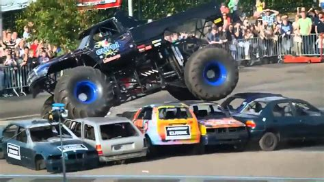 monster truck show accident haaksbergen accident multiple angles monster truck rides